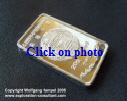 State Refinery Pyongyang: silver bar (front side), 20 gram, 999 fineness