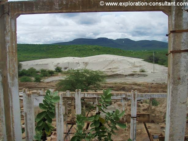 The three majn mines of the region have left more than 10 Mio tonnes of tailings @ 0.15 % WO3.